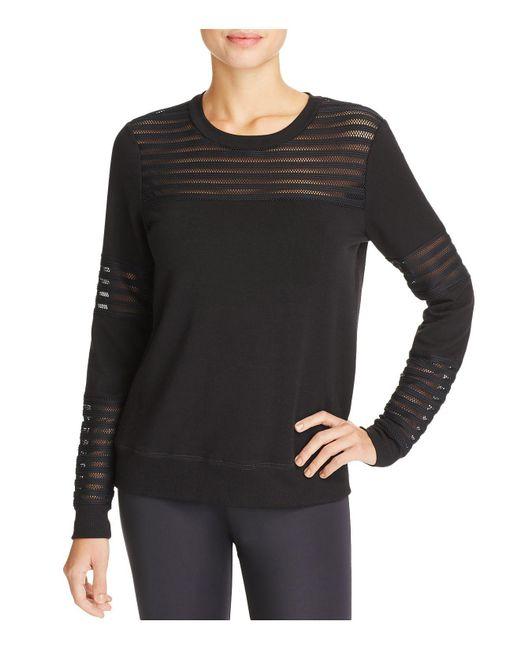 Beyond Yoga | Black Off The Grid Sweatshirt | Lyst