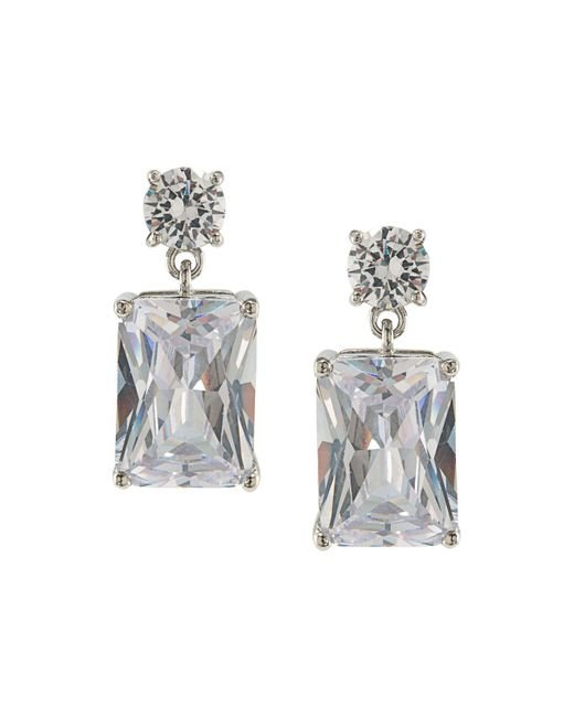 Carolee | Metallic Double Drop Earrings | Lyst
