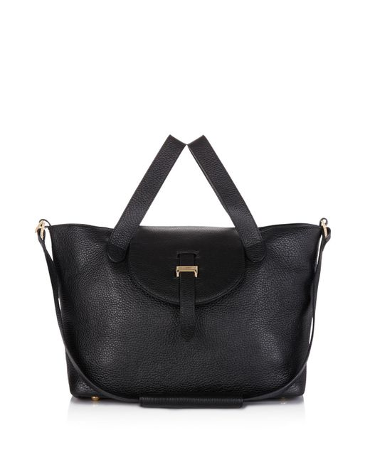 Meli Melo | Black Medium Thela Zipper Tote | Lyst