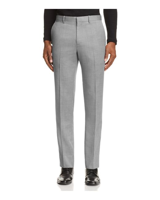 Theory | Gray Marlo Coburg Slim Fit Suit Separate Trousers for Men | Lyst