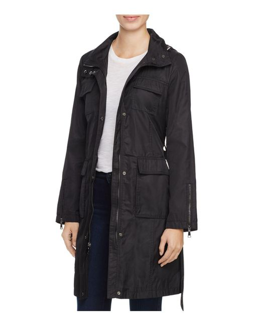 T Tahari | Black Giselle Raincoat | Lyst