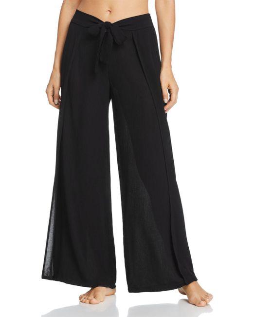 Becca - Black Modern Muse Cover-up Flyaway Pants - Lyst