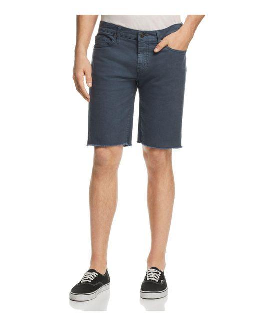 J Brand - Blue Eli Regular Fit Cutoff Shorts for Men - Lyst