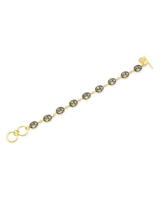 Freida Rothman - Metallic Rose D'or Line Bracelet - Lyst