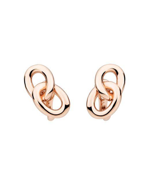 Pomellato - Metallic Tango Earrings In 18k Rose Gold - Lyst