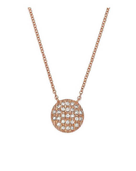Dana Rebecca | Metallic 14k Rose Gold Lauren Joy Medium Necklace With Diamonds | Lyst