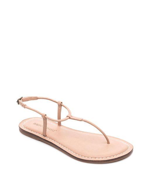 Bernardo - Multicolor Lilly T-strap Thong Sandals - Lyst