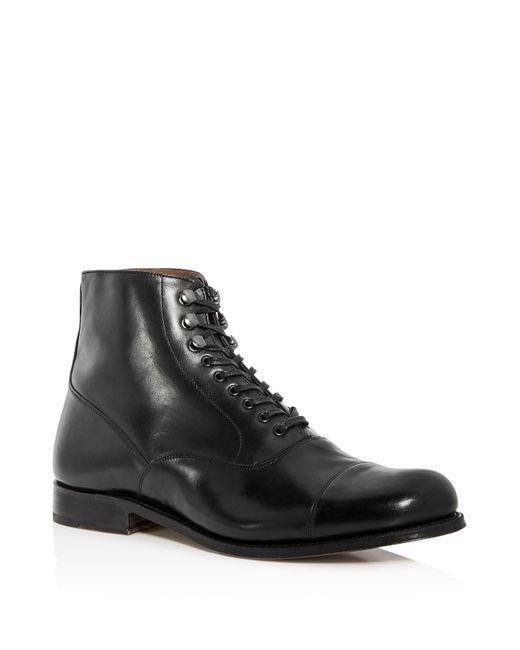 GRENSON | Black Men's Leander Leather Lace Up Boots for Men | Lyst