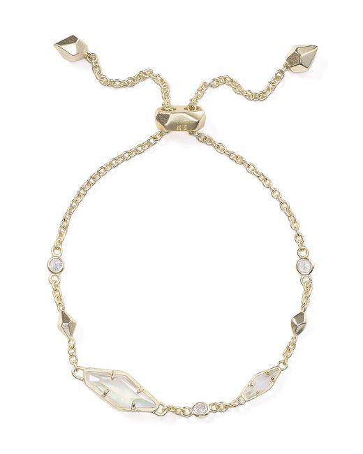 Kendra Scott | Metallic Deb Bracelet | Lyst