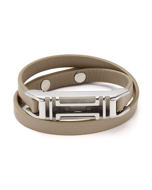 Tory Burch | Gray Fitbit Bracelet | Lyst