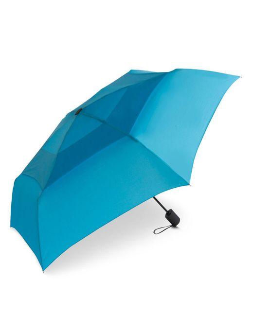 Shedrain - Blue Windpro® Vented Automatic Compact Umbrella - Lyst