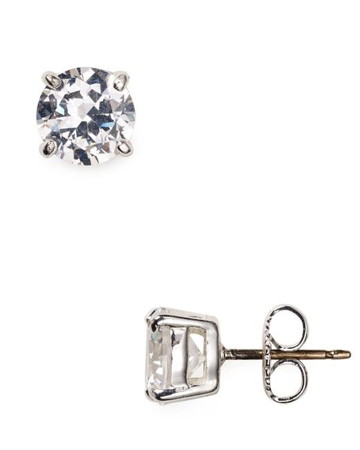 Carolee | Metallic Small Cubic Zirconia Stud Earrings | Lyst