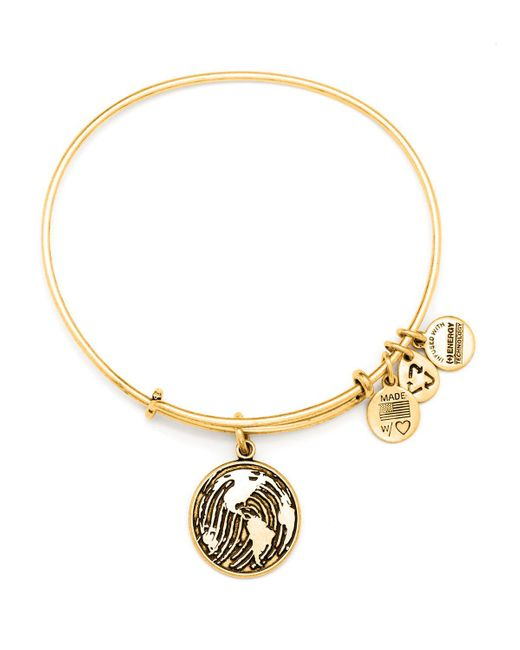 ALEX AND ANI | Metallic Make Your Mark Expandable Wire Bangle, Charity By Design Collection | Lyst