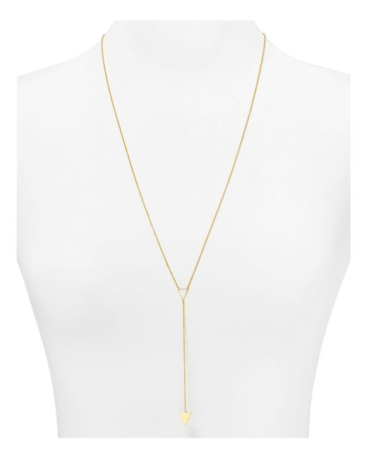 Gorjana | Metallic Mika Y Necklace, 26"