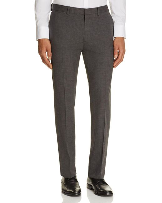 Theory | Gray Marlo Slim Fit Suit Separate Trousers for Men | Lyst