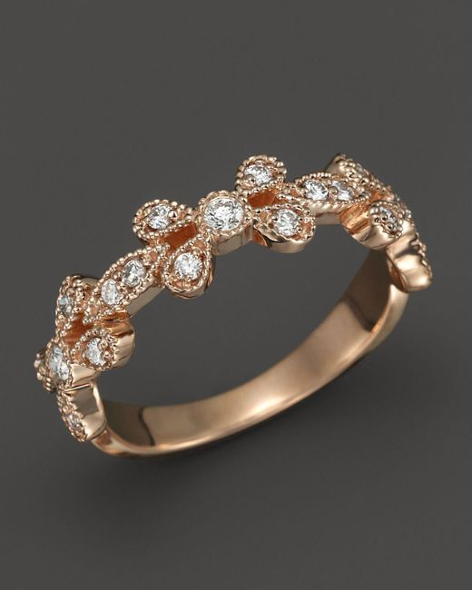 KC Designs   Pink Diamond Stackable Band In 14k Rose Gold, .30 Ct. T.w. - 100% Exclusive   Lyst