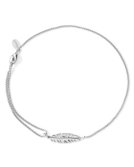 ALEX AND ANI | Metallic Precious Metals Symbolic Feather Pull Chain Bracelet | Lyst