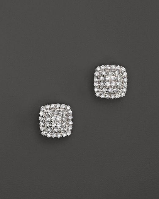 Dana Rebecca | Emily Sarah Earrings In White Gold With Diamonds | Lyst