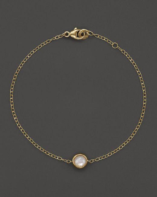 Ippolita | Metallic 18k Gold Mini-lollipop Bracelet In Mother-of-pearl | Lyst