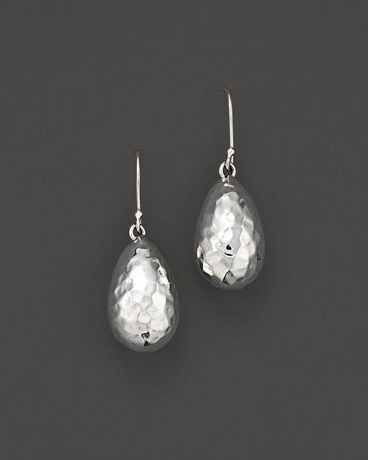 Ippolita | White Sterling Silver Glamazon Medium Raindrop Bead Earrings | Lyst