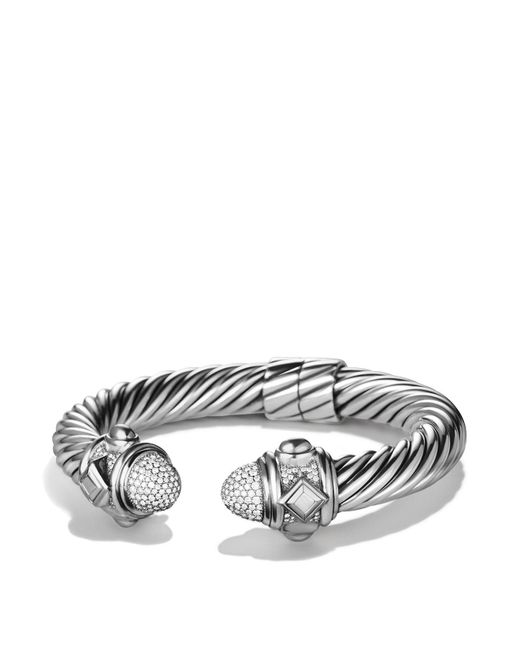 David Yurman | Metallic Renaissance Bracelet With Diamonds | Lyst