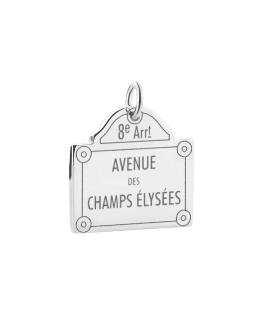 Jet Set Candy - Metallic Champs-elysées Sign Charm - Lyst