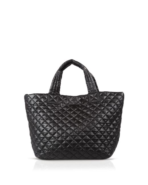 MZ Wallace | Black Oxford Metro Small Tote | Lyst