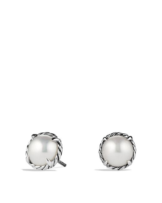 David Yurman | Metallic Châtelaine Earrings With Pearls | Lyst