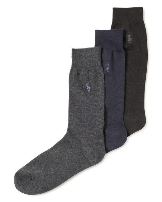 Polo Ralph Lauren | Black Men's Knit Socks for Men | Lyst