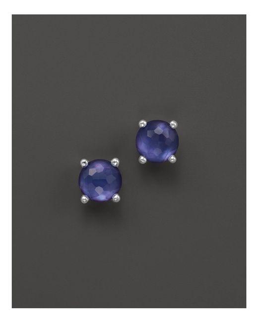 Ippolita | Purple Rock Candy® Mini Stud Earrings In Viola | Lyst