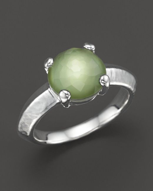 Ippolita | Metallic Rock Candy Single Stone Ring In Seagrass | Lyst