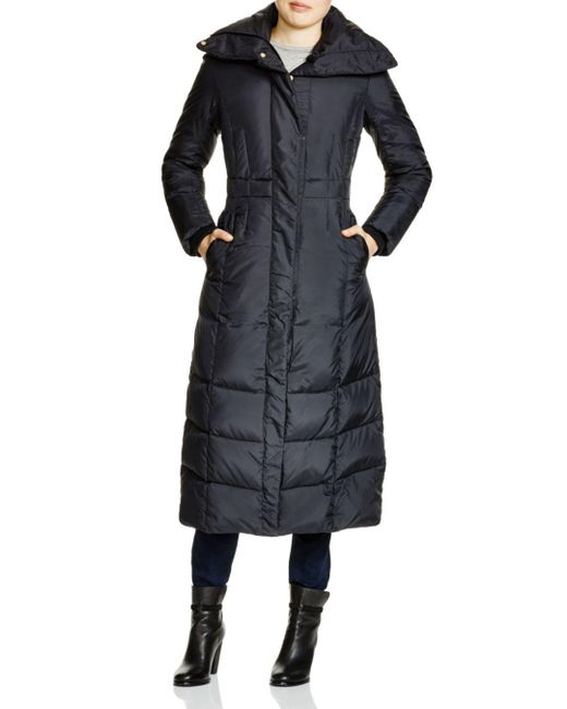 Cole Haan - Black Down Maxi Coat - Lyst