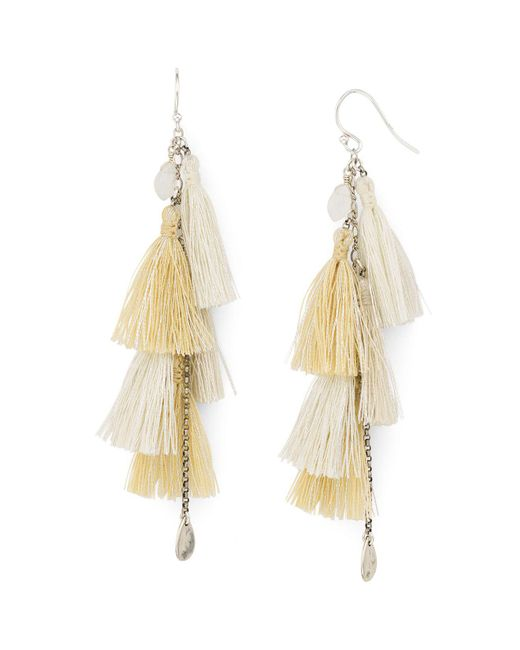 Chan Luu | Multicolor Tassel Earrings | Lyst