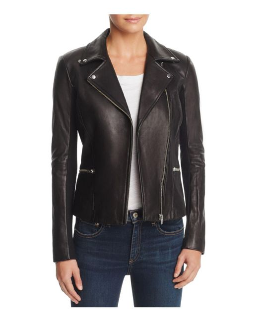 VEDA - Black Dallas Orion Leather Jacket - Lyst
