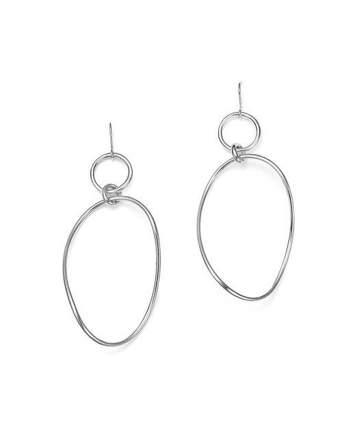 Ippolita | Metallic Glamazon Sterling Silver Wavy Snowman Earrings | Lyst