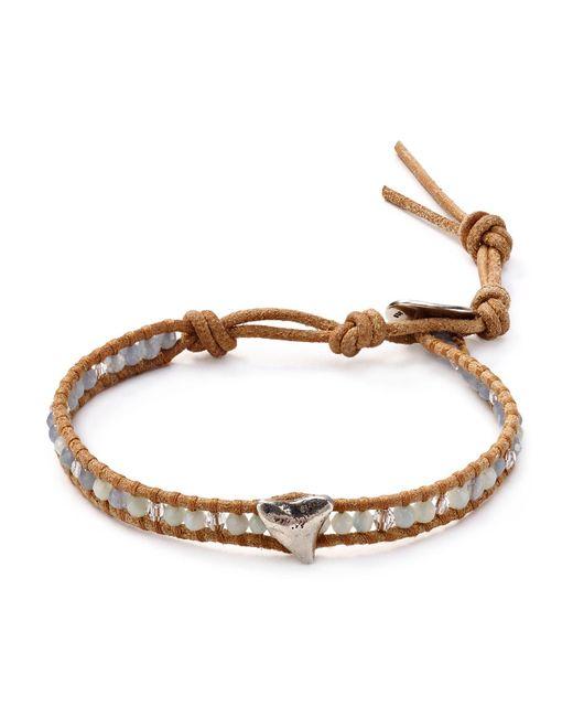 Chan Luu | Brown Set Of Three Beaded Bracelets | Lyst