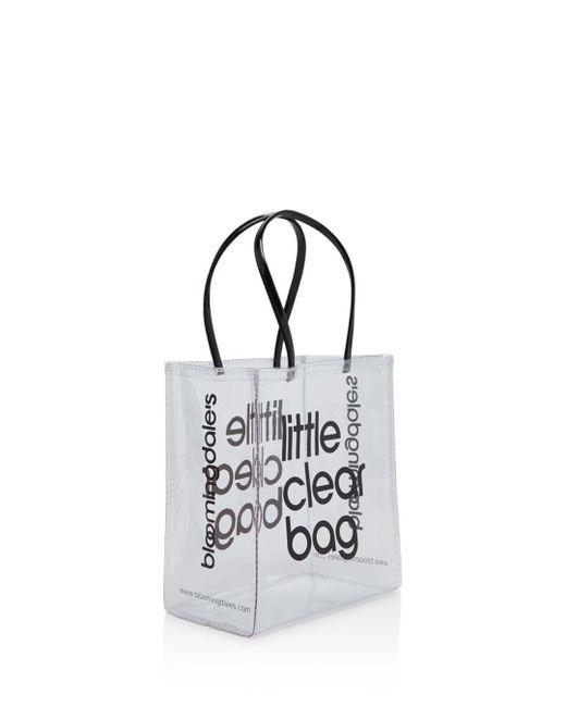 7b75dc155e3e Lyst - Bloomingdale s Little Clear Bag in Black