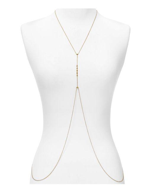 "Gorjana | Metallic Bali Body Chain Necklace, 22"" | Lyst"
