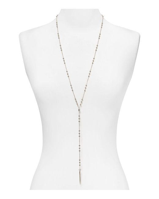 Dogeared | Metallic Paradise Found Y Necklace, 24"