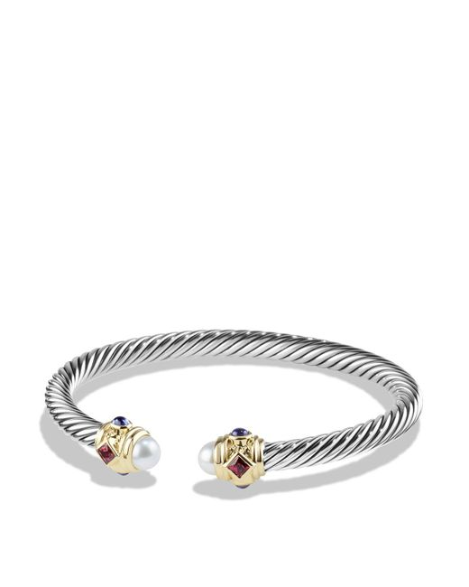 David Yurman | Blue Rhodalite Garnet And 14k Gold | Lyst