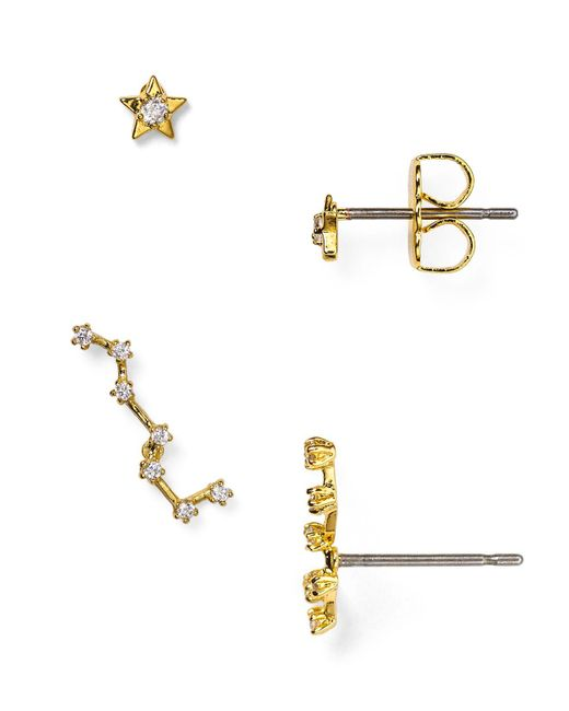 BaubleBar | Metallic Constellation Ear Climber & Stud Set | Lyst