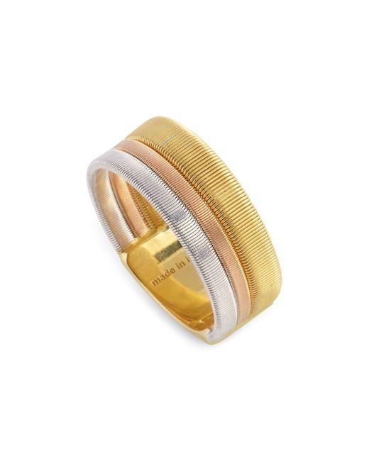 Marco Bicego | Metallic Rose & White Gold Goa Ring | Lyst