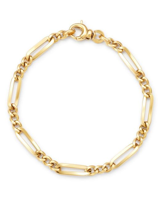 Bloomingdale's - Metallic Link Chain Bracelet In 14k Yellow Gold - Lyst