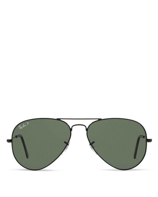 Ray-Ban | Black Ray–ban Original Aviator Sunglasses for Men | Lyst