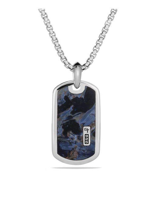 David Yurman - Multicolor Châtelaine Pave Bezel Necklace With Black Onyx And Diamonds, 24mm - Lyst