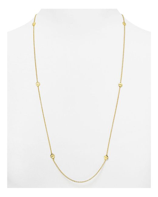 Gorjana | Metallic Chaplin Wrap Necklace, 32"