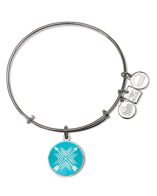 ALEX AND ANI   Metallic Arrows Of Friendship Expandable Wire Bangle, Charity By Design Collection   Lyst