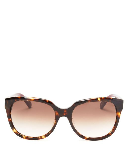 kate spade new york | Brown Bayleigh Square Sunglasses, 55mm - 100% Bloomingdale's Exclusive | Lyst