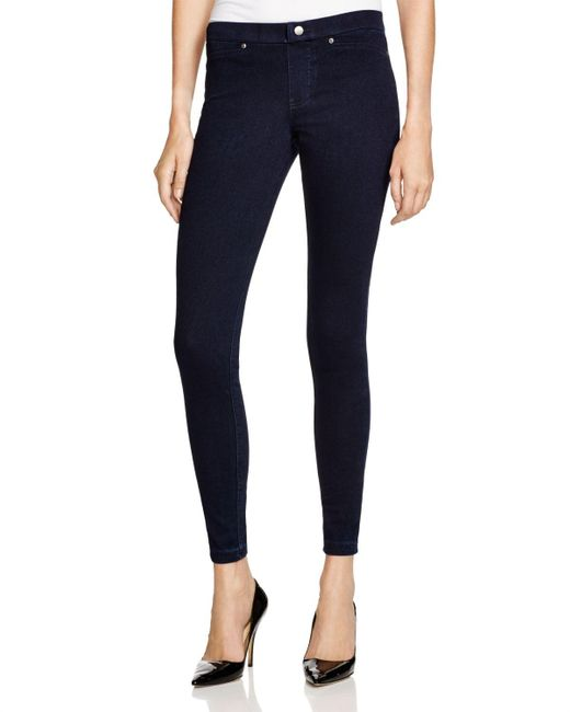 Hue | Gray Super Smooth Denim Leggings | Lyst