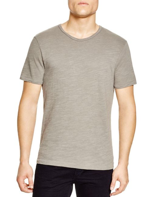 Rag & Bone | Gray Basic Tee for Men | Lyst